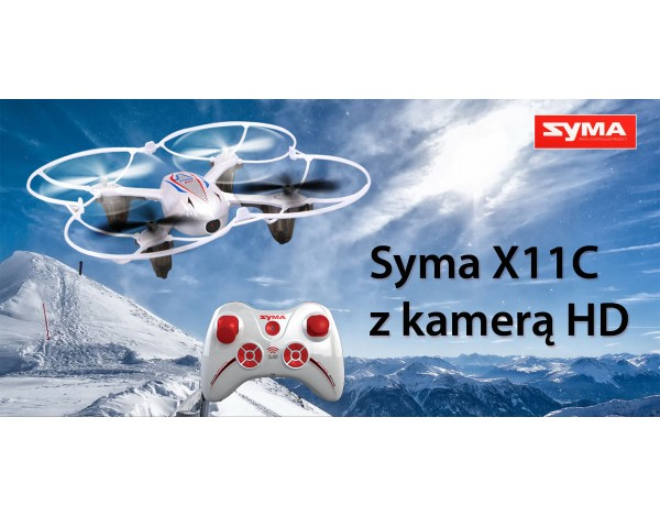 Dron nano SYMA X11C z kamerą 2mpx