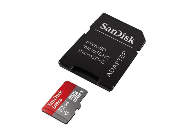 Karta pamięci microSDXC Ultra Sandisk 32GB c10 +adapter