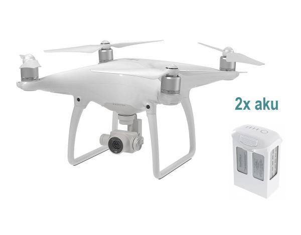 Quadrocopter DJI Phantom 4 + dodatkowy akumulator