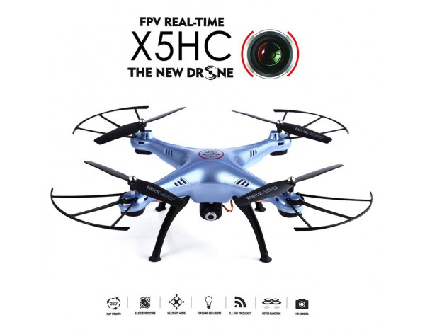 Dron SYMA X5HC z funkcją zawisu