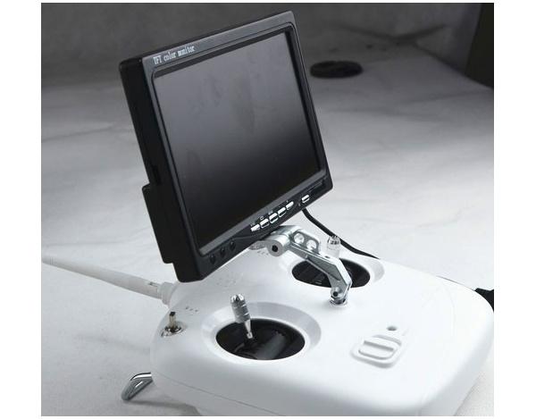 Monitor - uchwyt CNC Aluminium do LCD 7-8 cali na nadajnik RC