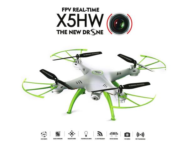 Dron SYMA X5HW z funkcją zawisu i FPV