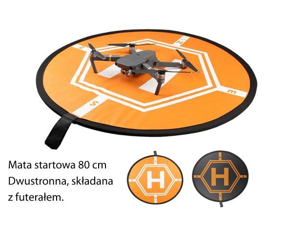 Mata startowa, lądowisko dla dronów z futerałem 80cm