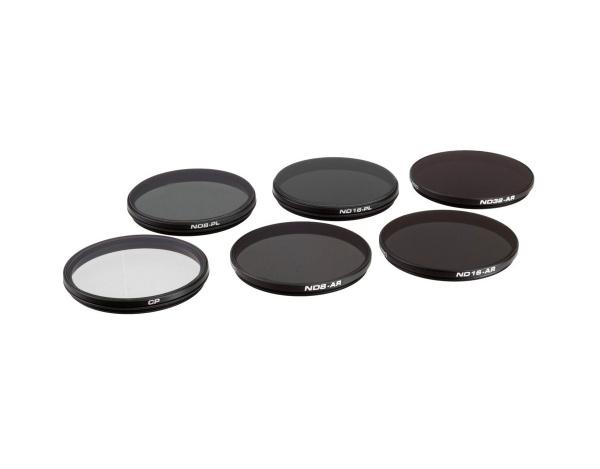 Zestaw 6 filtrów POLARPRO do do kamer X5/X5S/X5R