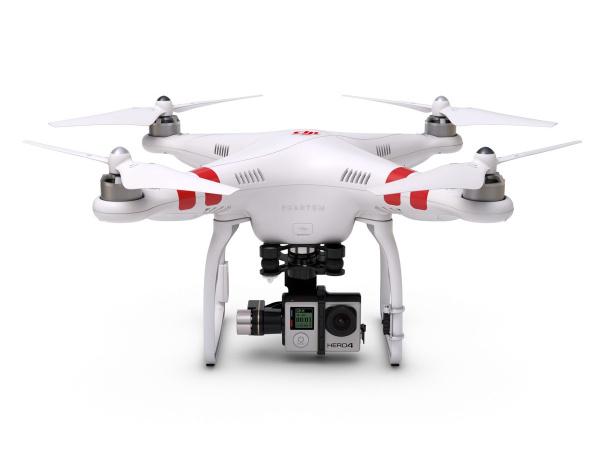 Quadrocopter DJI Phantom 2 z gimbalem H4-3D