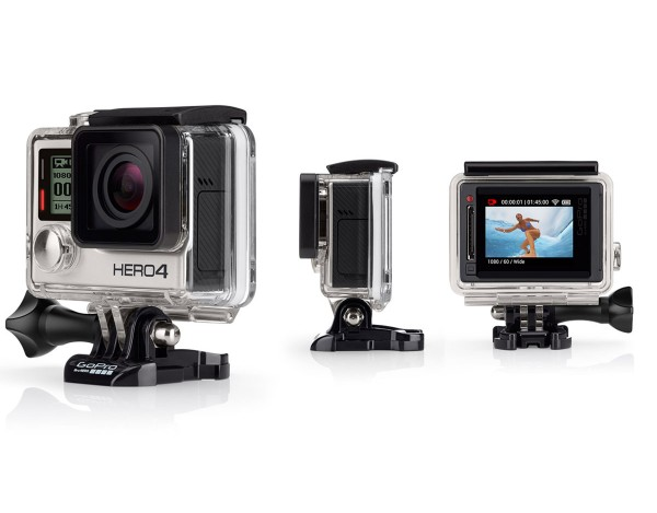 Kamera Hero 4 Silver