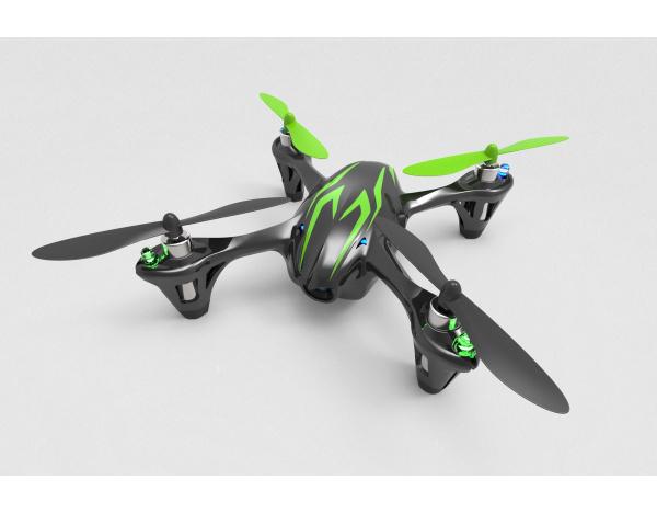 Dron Quadrocopter Hubsan X4 107C z kamerą HD 720p