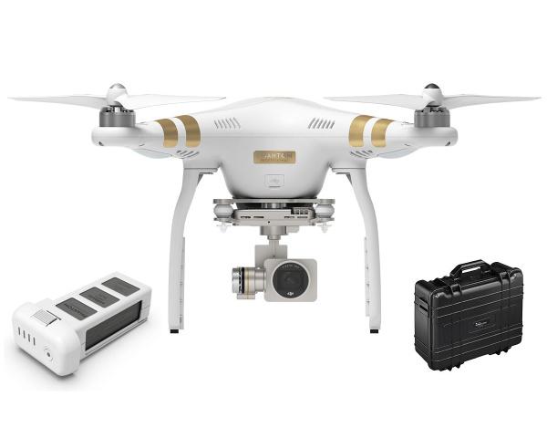 Quadrocopter DJI Phantom 3 Professional 4K +dodatkowy akumulator