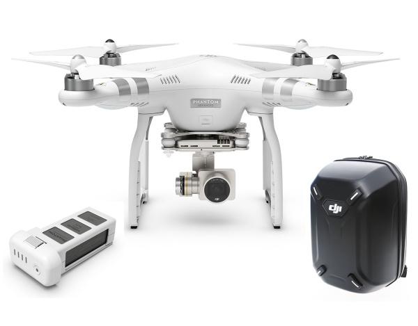 Quadrocopter DJI Phantom 3 Advanced +dodatkowy akumulator