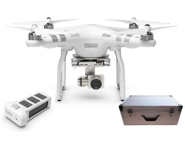 Quadrocopter DJI Phantom 3 Advanced +dodatkowy akumulator i walizka