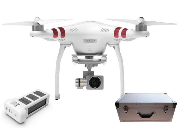 Quadrocopter DJI Phantom 3 Standard +akumulator i walizka alu