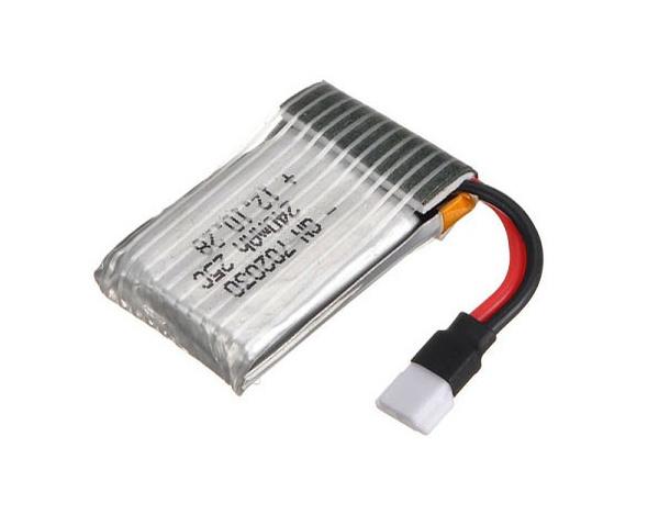 Akumulator LiPo 3.7V 240mAh 25C do SYMA X11C /HUBSAN 107L
