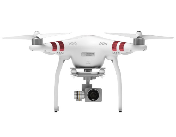 Quadrocopter DJI Phantom 3 Standard + dodatkowy akumulator