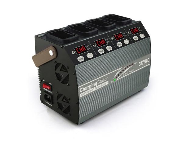 Stacja ładująca 4 akumulatory SKYRC do DJI Phantom 3/4