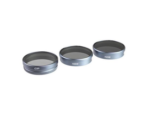 Zestaw 3 filtrów POLARPRO do DJI Phantom 3/4 -CPL,ND4,ND8