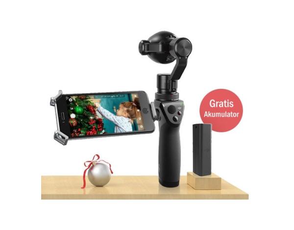 Gimbal ręczny DJI OSMO+ z kamerą Z3 zoom 7x 2x akumulator