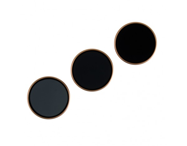 Zestaw 3 filtrów POLARPRO do DJI Phantom 4 PRO -ND8,ND16,ND32