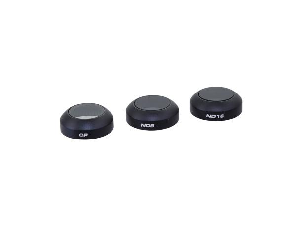 Zestaw 3 filtrów POLARPRO CP, ND8, ND16 do DJI Mavic PRO z etui