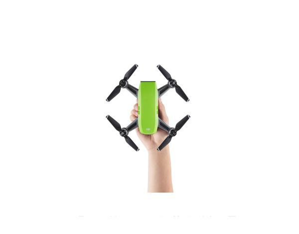 DJI Spark COMBO - mały dron z kamerą 1080p ZIELONY