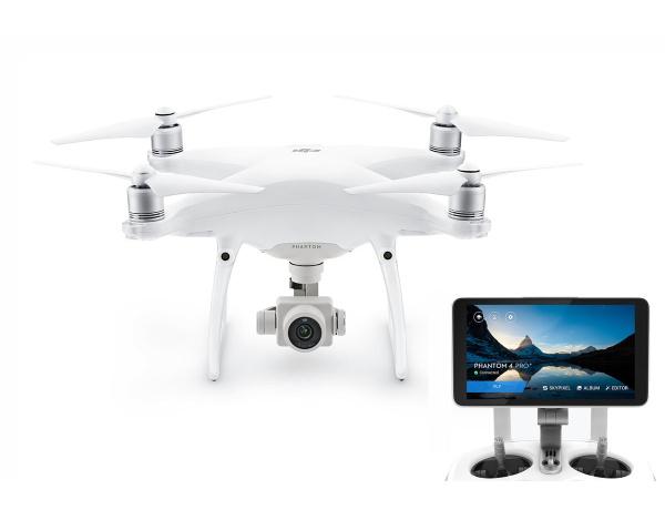 "Quadrocopter DJI Phantom 4 Advanced + z tabletem DJI 5.5"""