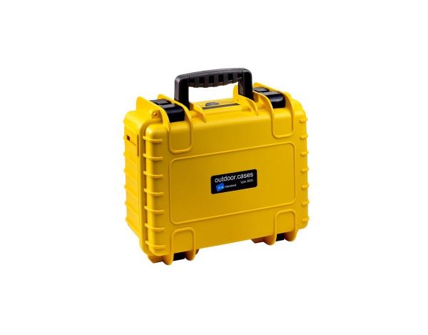 Walizka B&W typ 3000 do DJI Spark żółta