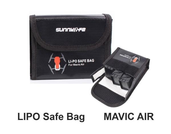LIPO-SAFE bag bezpieczny futerał na 3 akumulatory DJI Mavic AIR