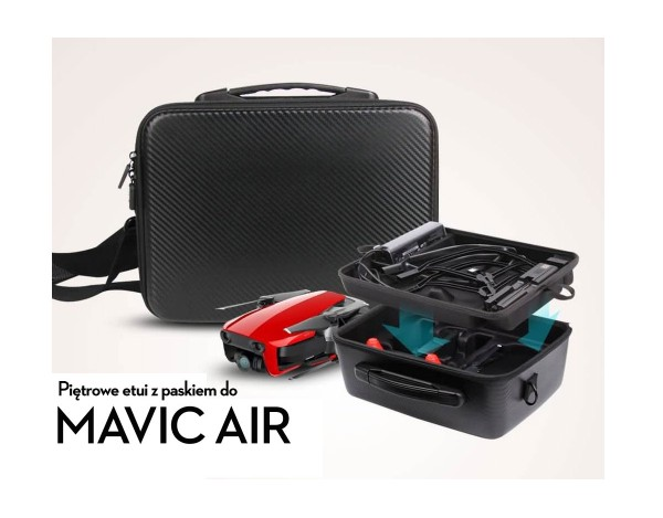 Piętrowe etui na DJI MAVIC AIR COMBO ( Double Deck)