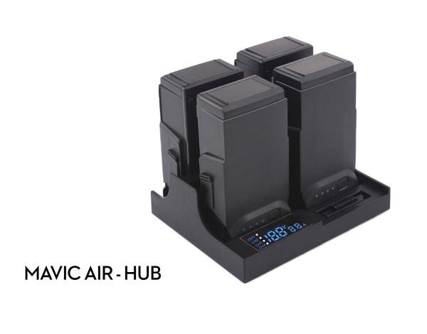 Hub z LCD do ładowania 4 akumulatorów DJI Mavic Air