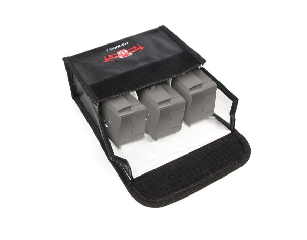LIPO-SAFE bag bezpieczny futerał na 3 akumulatory DJI Mavic 2