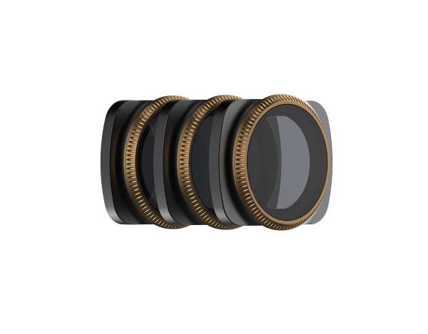 Zestaw 3 filtrów POLARPRO do DJI OSMO POCKET -ND4PL ,ND8PL,ND16PL VIVID