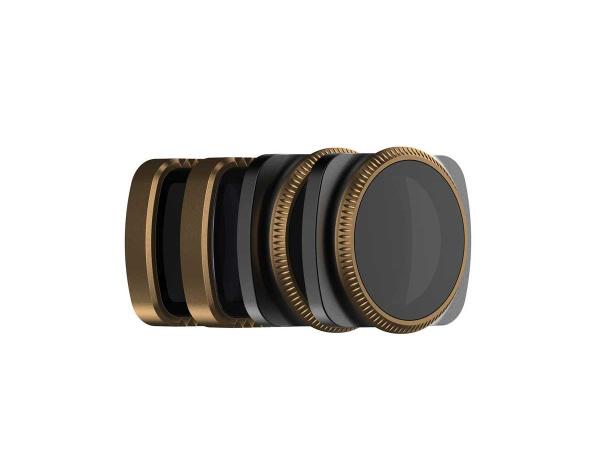 Zestaw 4 filtrów POLARPRO do DJI OSMO POCKET -ND32,N64,ND32PL,ND64PL