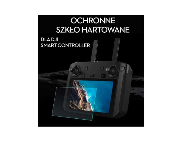 Hartowane szkło ochronne dla DJI Smart Controller