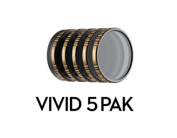 Zestaw 5 filtrów POLARPRO do DJI OSMO Action
