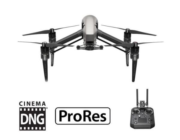 Quadrocopter DJI Inspire 2 X7 Advanced Kit (licencje +cendence)