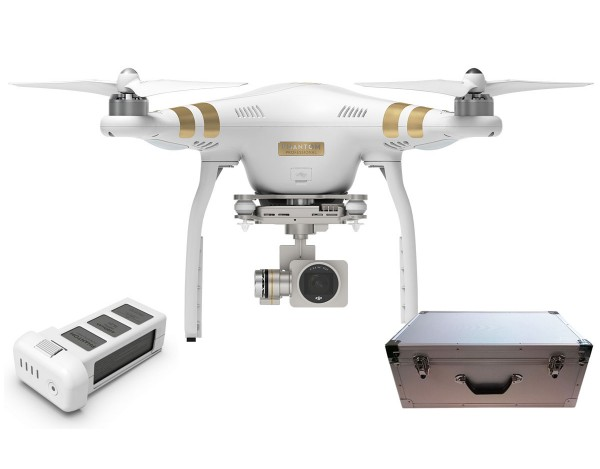 Quadrocopter DJI Phantom 3 Professional v2 +akumulator i walizka alu