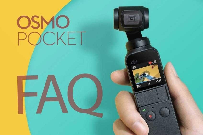 DJI OSMO POCKET FAQ Pytania i odpowiedzi