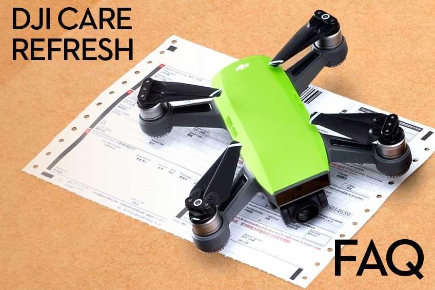 DJI CARE REFRESH FAQ Pytania i odpowiedzi z regulaminem usługi